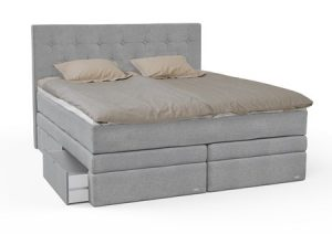 Smaragd seng med oppbevaring