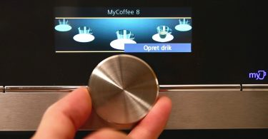 integrert kaffemaskin