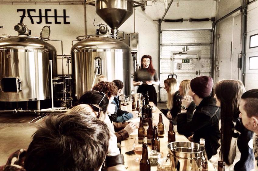 Ølsmaking og omvisning på 7 Fjell Bryggeri