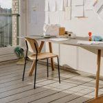 Hay stol Soft Edge 10 Stol Eik/svart