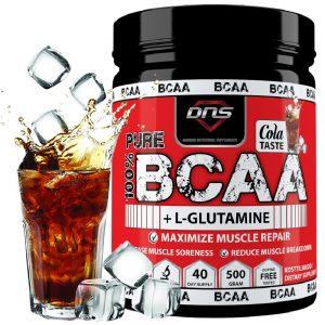 BCAA + L-Glutamin 500 gram med Cola-smak