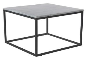 Accent – sofabord – marmor i kvadratform